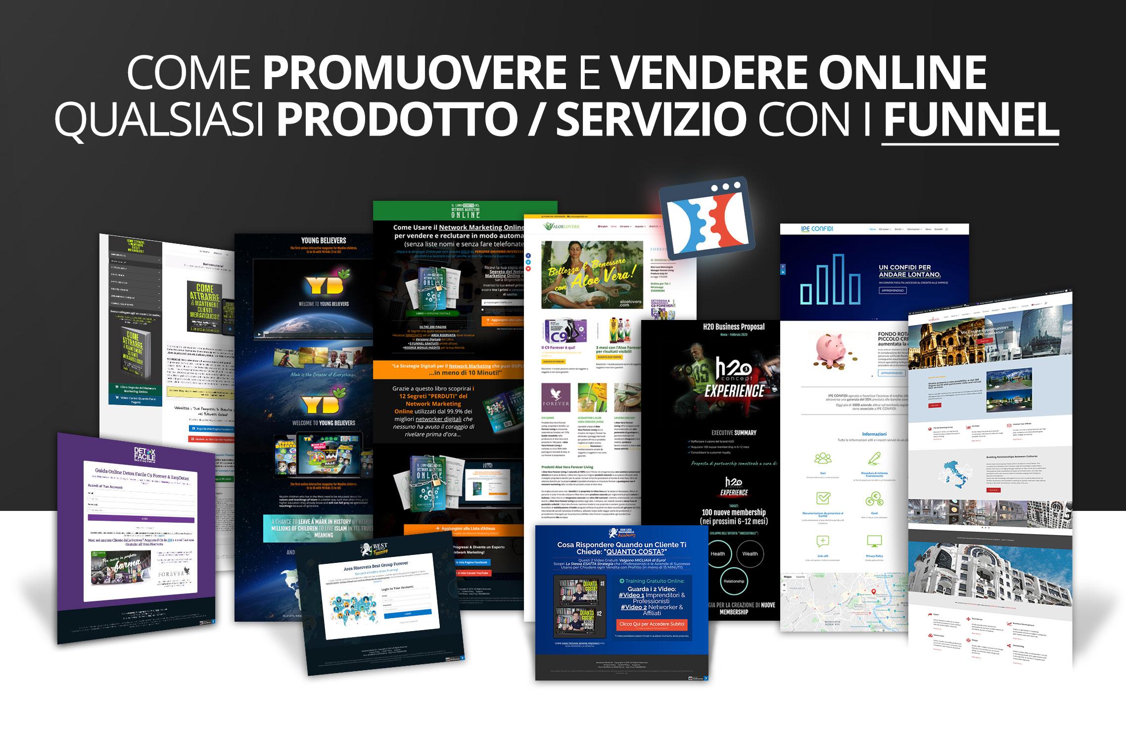 Funnel-marketing-nextlevel-media-roma