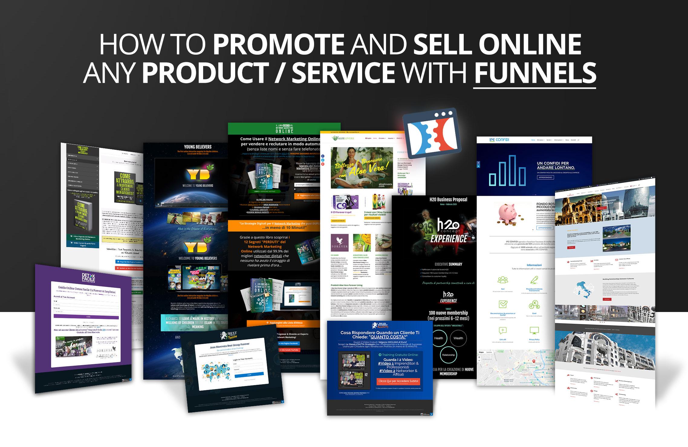 Funnel-marketing-nextlevel-media-rome